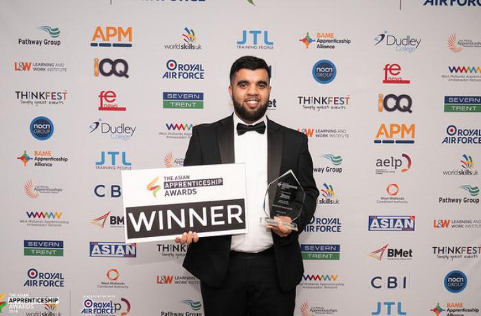 Shabeb-at-apprenticeship-awards