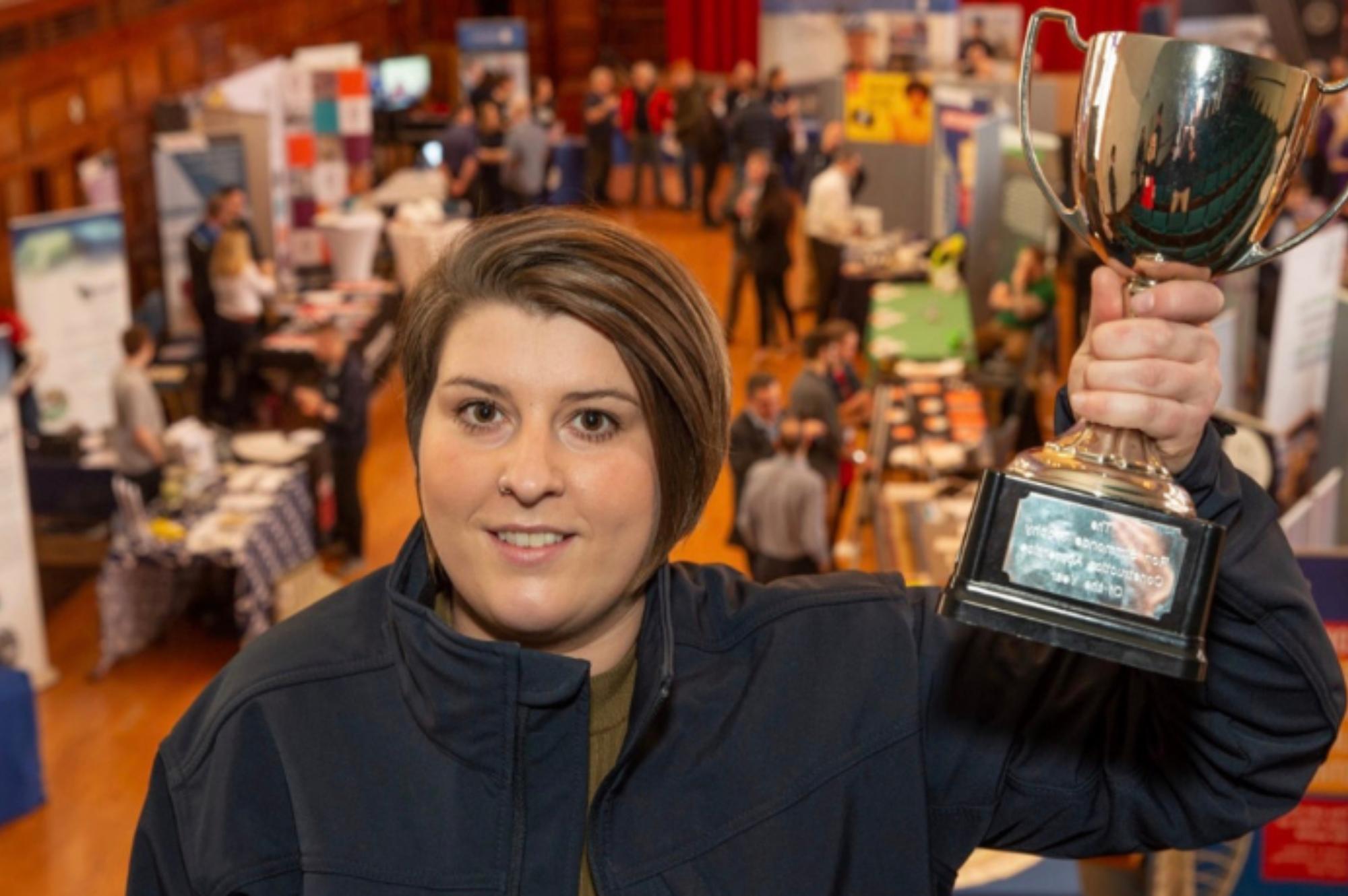 Emma Nichols wins TClarke's Apprentice of the Year Award