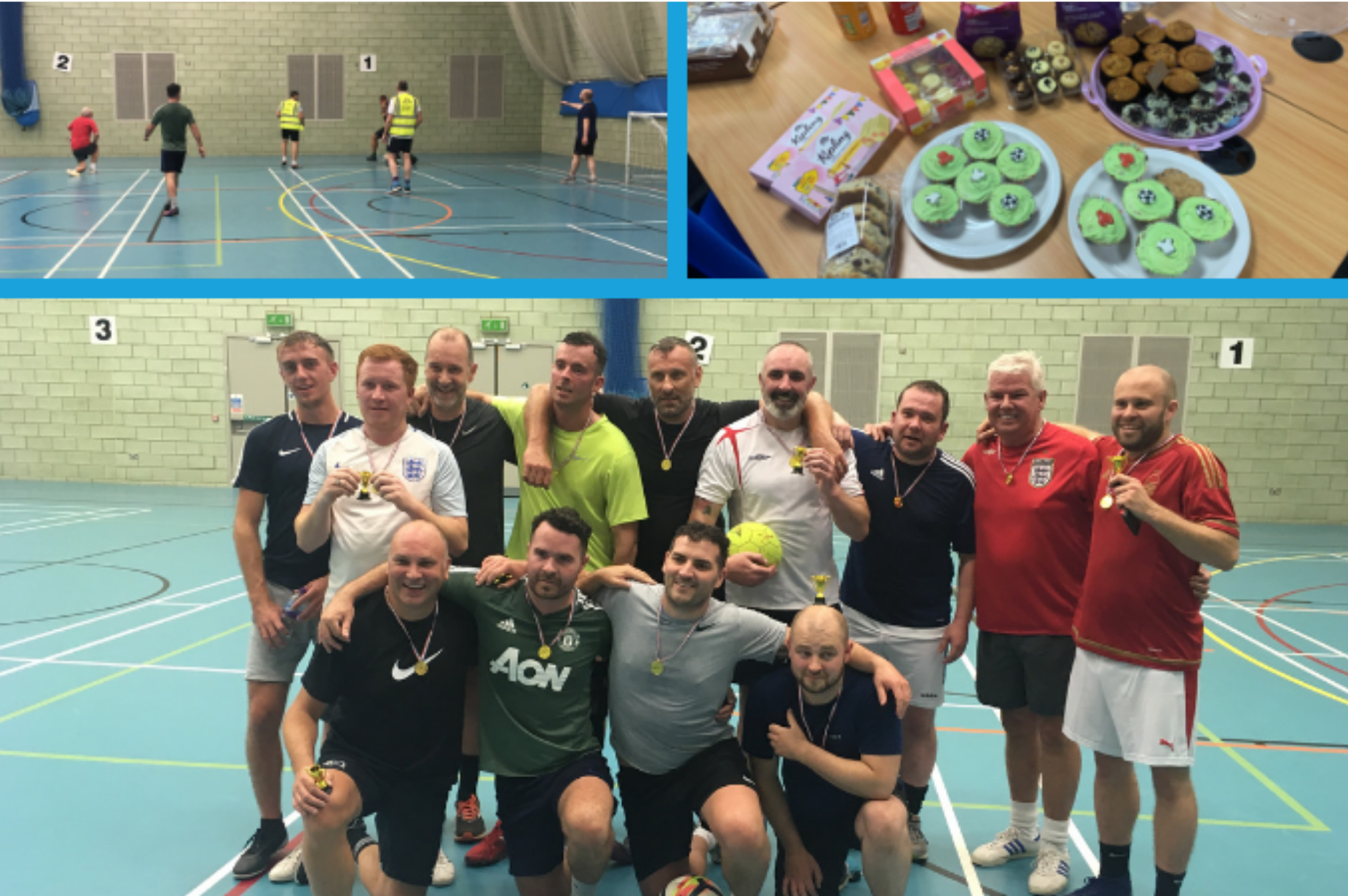 Charity Football Match Raises Funds for Electrical Industries Charity