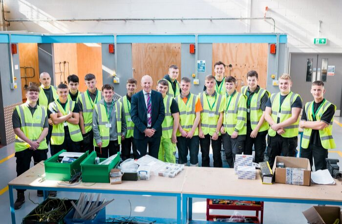 MP John Stevenson visits JTL's newly opened training centre in Carlisle