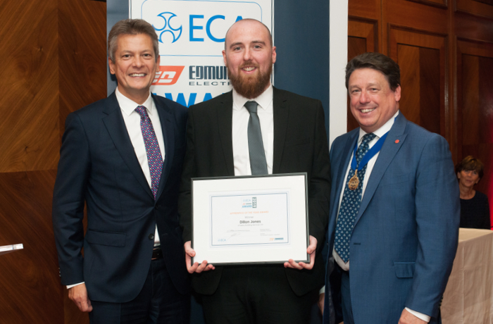 Success for leading JTL apprentice in ECA Edmundson Apprentice of The Year Award 2019