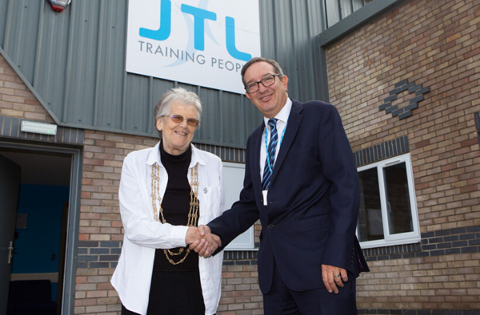 The Lord Mayor opens JTL's latest training centre in York