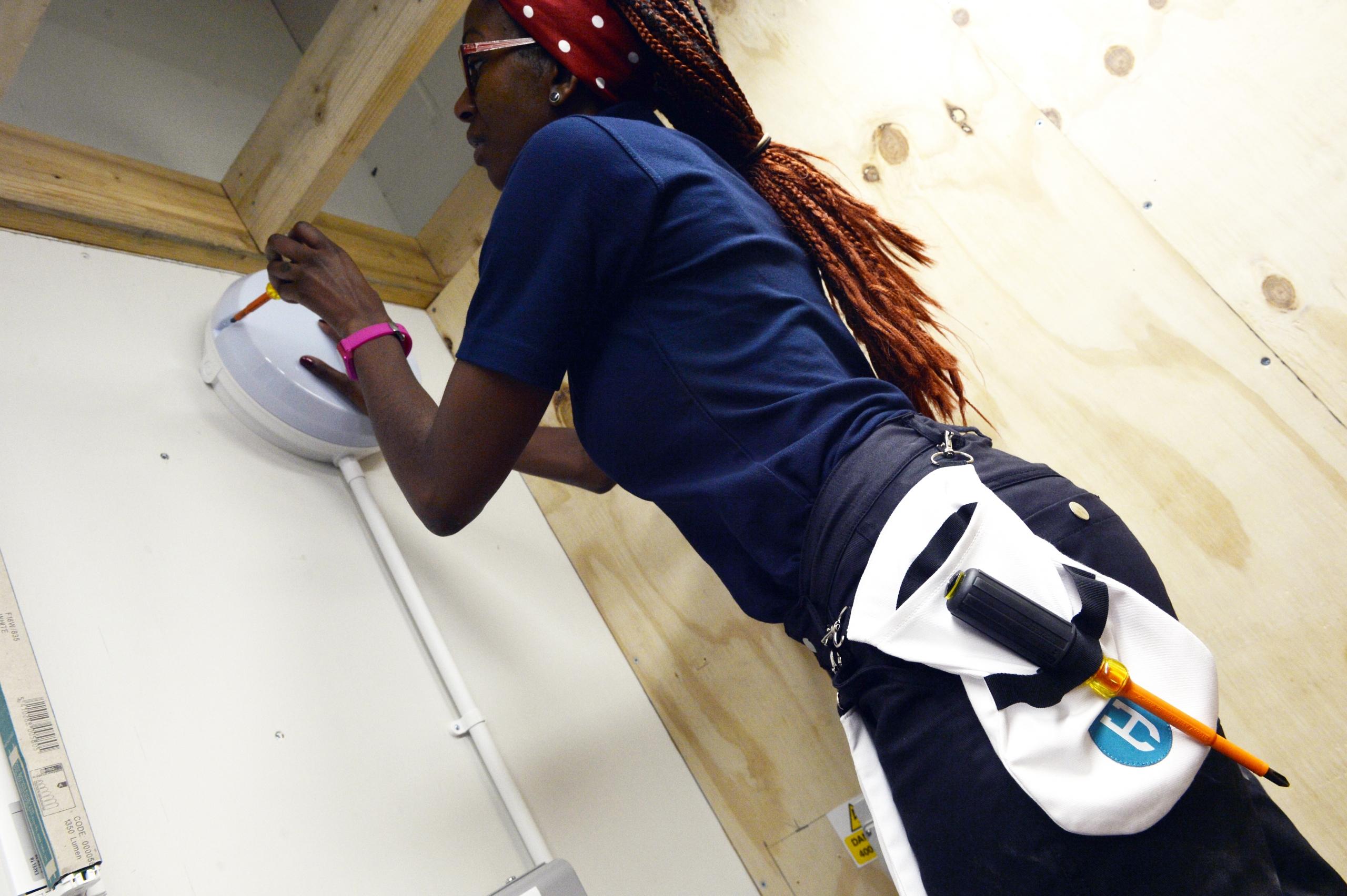 JTL Electrical Female apprentice