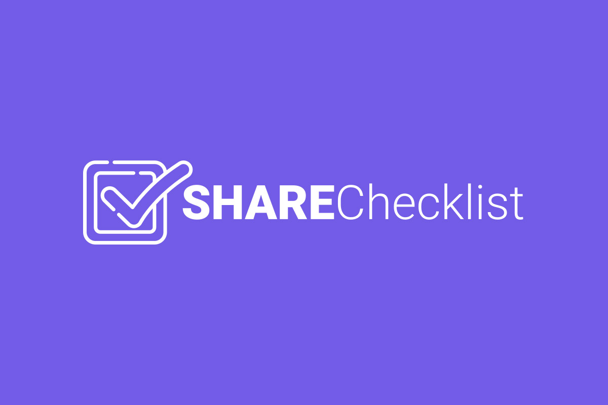share checklist logo