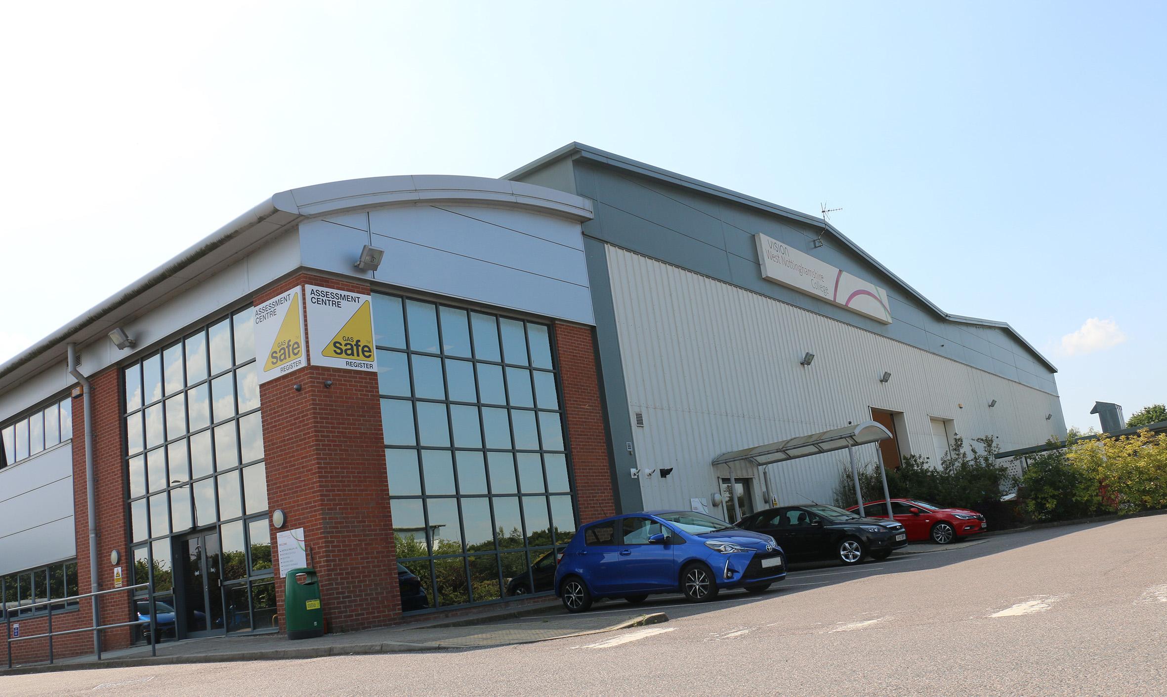 Vision West Nottingham College Construction Centre