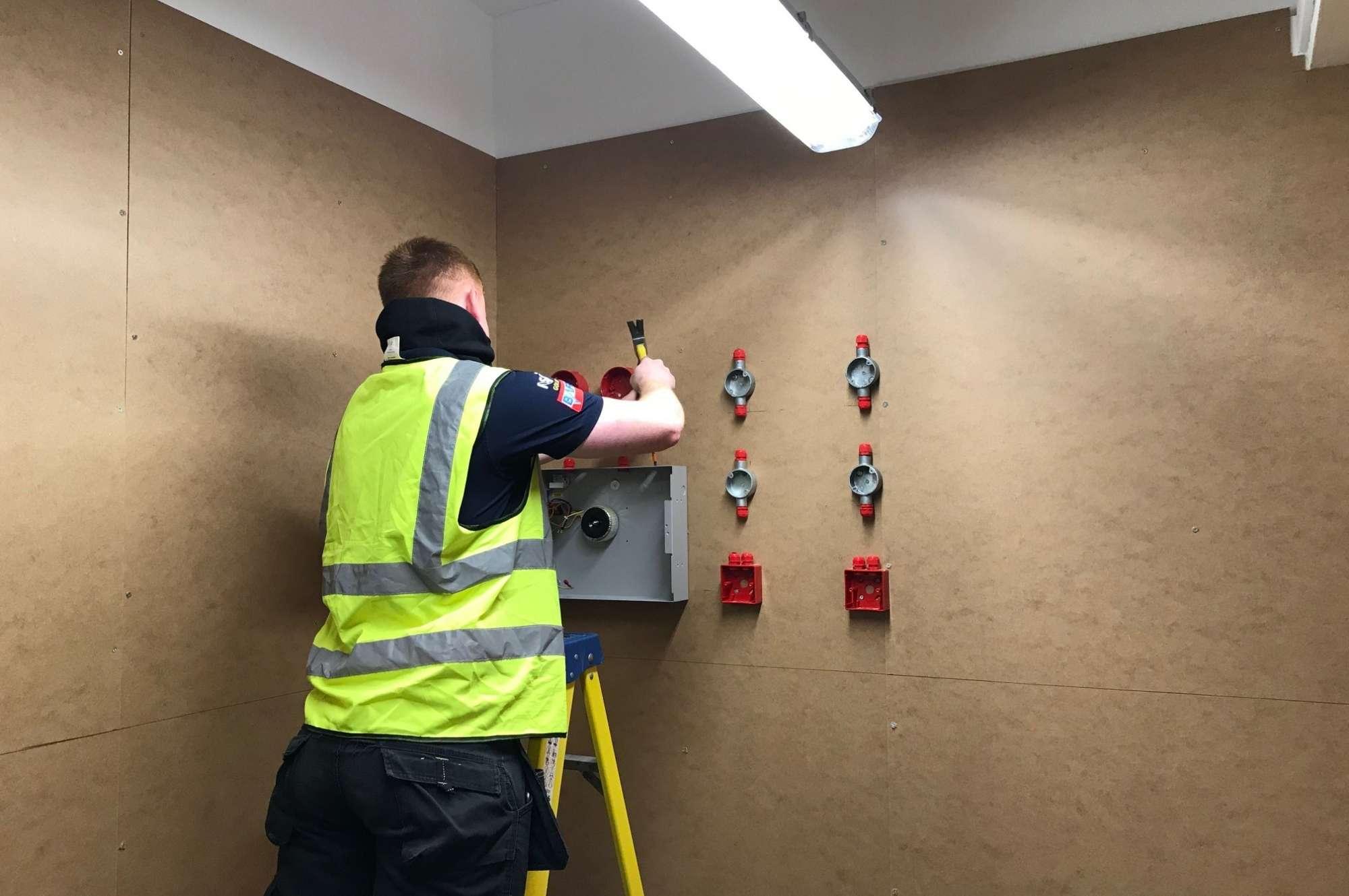 Kentec Electronics donates fire panels to support JTL apprentices